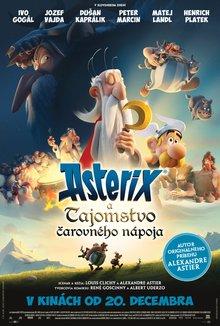 Asterix a tajomstvo čarovného nápoja poster
