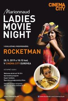 Ladies Night Rocketman poster