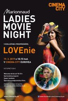 Ladies Night - LOVEnie poster