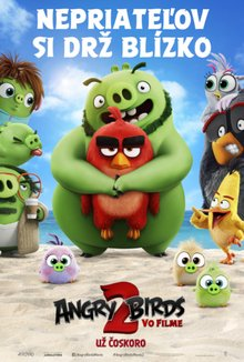 Angry Birds vo filme 2 poster