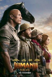 Jumanji: Ďalší level poster