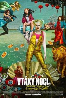 Vtáky noci a fantastický prerod jednej Harley Quinn poster