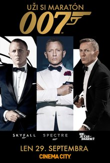 007 maraton poster