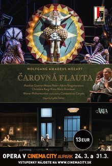Opera v Cinema City: The Magic Flute poster