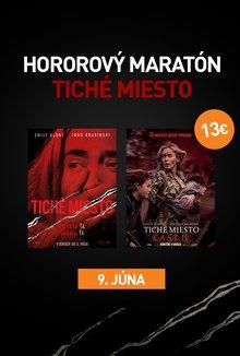 Tiché miesto: Maratón Časť I+II poster