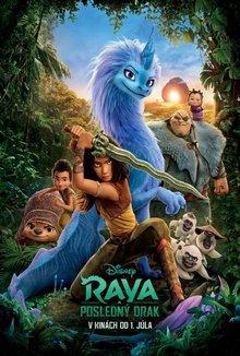 Raya a posledný drak poster