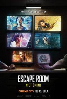 Escape Room: Niet úniku poster